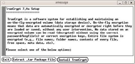 Festplattenverschlüsselung mit TrueCrypt