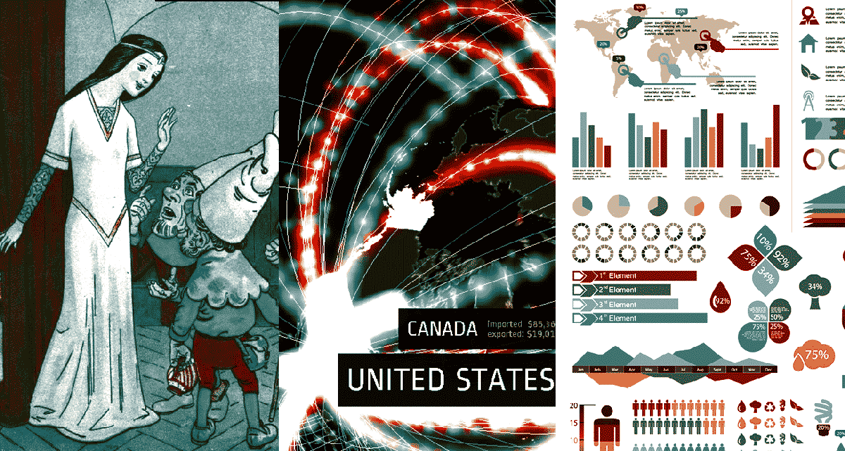 Erkenntnisse aus Daten: Storys statt Artefakten und Welten statt Storys