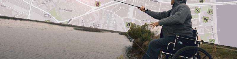 MapMyDay – Aktionstag für eine Karte zum Suchen und Finden rollstuhlgerechter Orte