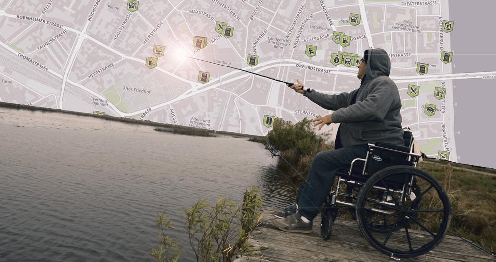 MapMyDay - Aktionstag für eine Karte zum Suchen und Finden rollstuhlgerechter Orte