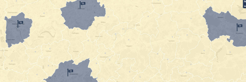 Open Data NRW - Karte